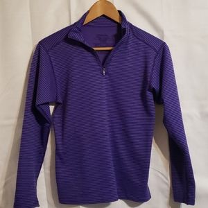 Patagonia striped purple long sleeve
